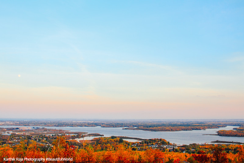 St. Louis River, view from Thompson Hill, Duluth, Minnesota