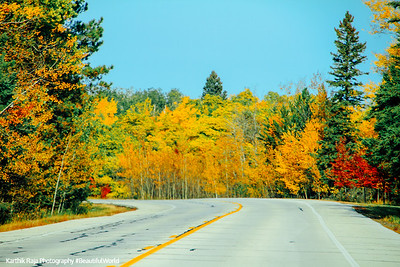 Fall Colors, North Shore Scenic Drive, Duluth to Two Harbors, MN