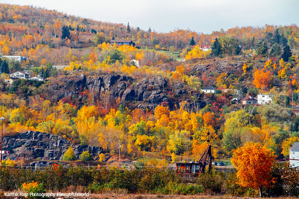 Fall, Moose Mountain, Duluth, Minnesota