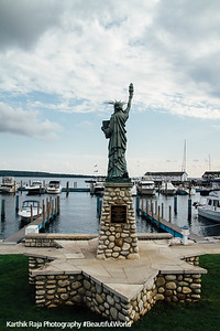 Liberty Statue, Mackinac Island, Michigan