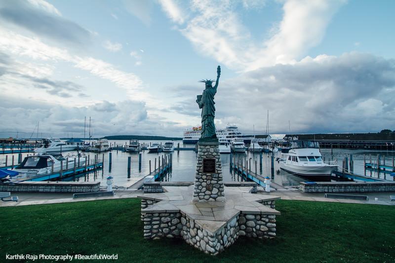 Statue of Liberty, Mackinac Island, Michigan