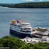 Cruise ship, Mackinac Island, Michigan