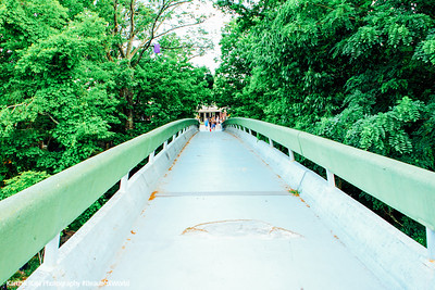 Bridge to the Visitor Center, Mammoth Cave National Park, Kentucky