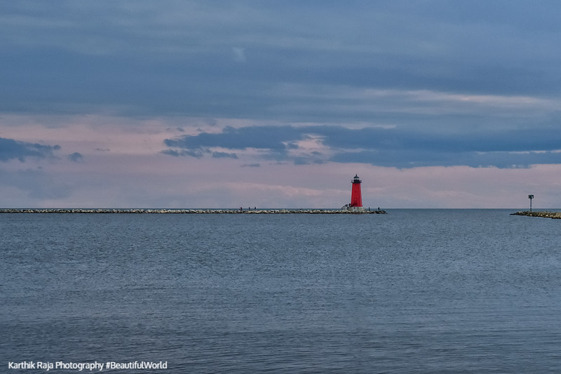 Manistique East Breakwater Lighthouse, Hiawatha National Forest, Michigan