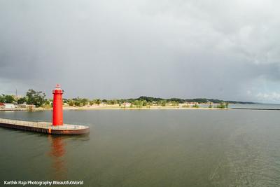 Lighthouse, Muskegon River, Michigan
