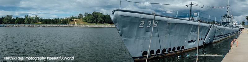 USS Silversides Museum, Muskegon, Michigan