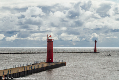 Lighthouse, Muskegon River, Michigan