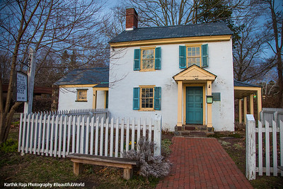Nelson House, Washington Crossing State Park, New Jersey