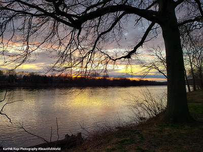 Delaware River, Washington Crossing State Park, New Jersey