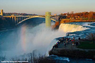 Rainbow Bridge, Niagara Falls National Heritage Area and State Park, NY