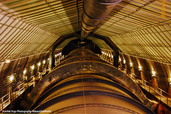 Penstock pipe at Hoover Dam, Las Vegas, NV
