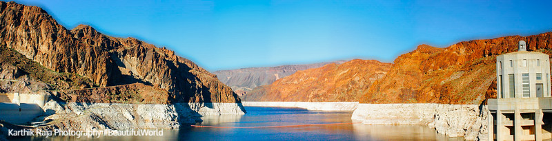 Colorado River panorama, Nevada