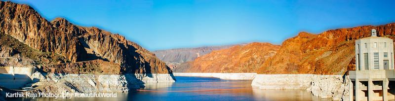 Colorado River panorama, Nevada