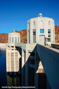 Water Intake at Hoover Dam, NV