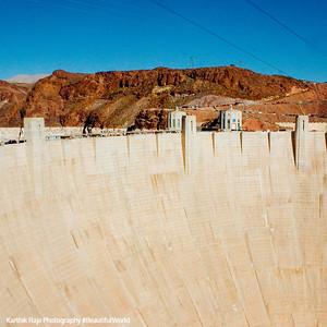 Hoover Dam, biggest in the Western Hemisphere, Las Vegas, NV