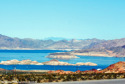 Lake Mead - 550 miles of shoreline, NV