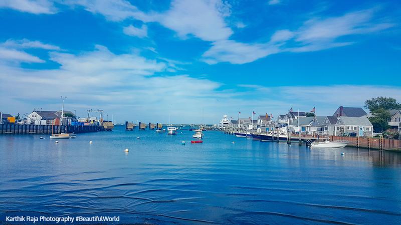 Nantucket Harbor, Cape Cod Islands, Massachusetts