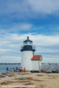 Brant Point Lighthouse, Nantucket, Cape Cod Islands, Massachusetts