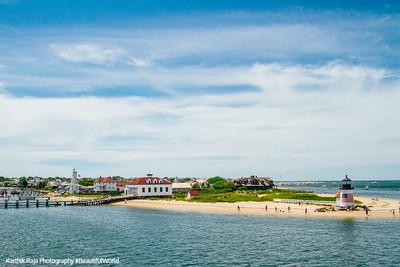 Brant Point Lighthouse, Nantucket, Cape Cod Islands, Massachusetts