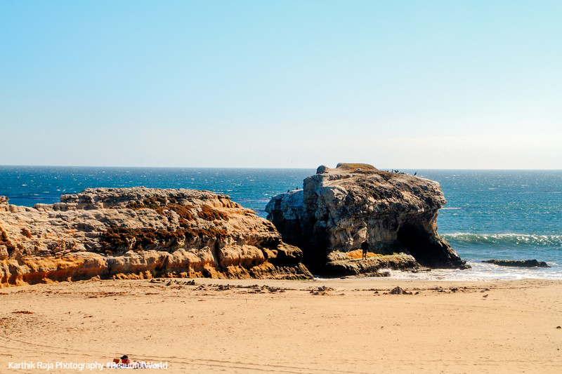 Natural Bridges State Beach, Park, California