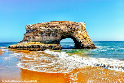 Natural Bridges State Beach, Park, California