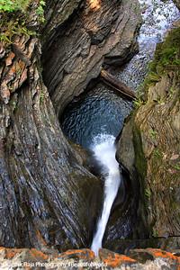 Pipe falls, Watkins Glen State Park, NY