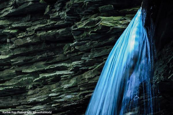 Drop falls, Watkins Glen State Park, NY