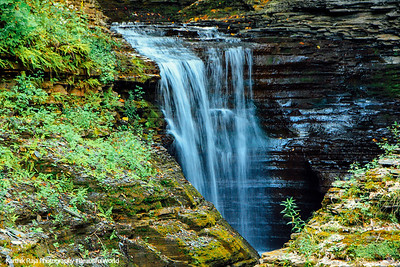 First view of waterfalls, Watkins Glen State Park, NY