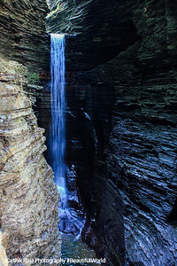 The highest waterfalls in the park, Watkins Glen State Park, NY
