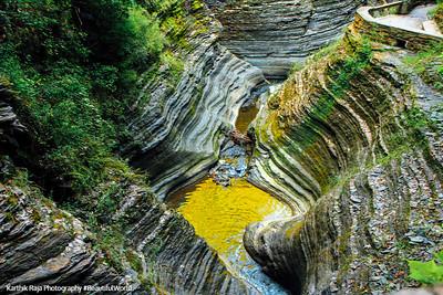 Gorge through the park, Watkins Glen State Park, NY