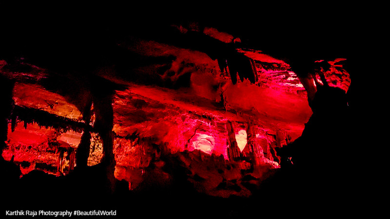 Light Show, Penn's Caves, Pennsylvania