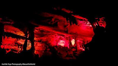 Light Show, Penn's Caves, Pennsylvania
