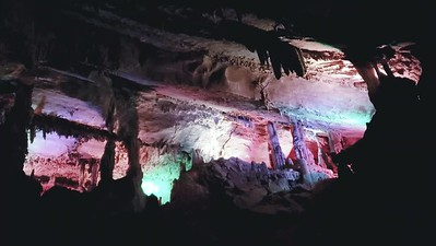 Penns Cave, Pennsylvania Light Show