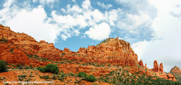 Steamboat Rock, Red Rock formations, Sedona, Arizona