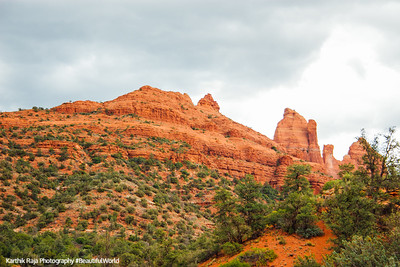 Steamboat Rock, Sedona, Arizona