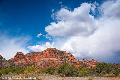 Red Rock formations, Sedona, Arizona