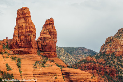 Red Rock Pillars, Sedona, Arizona