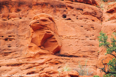Natural Formation, Eagle, Sedona, Arizona