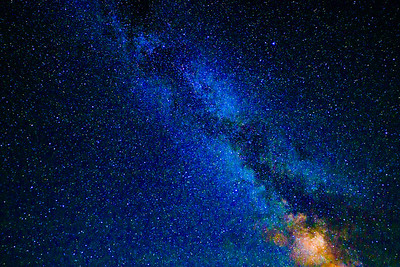 Stars, Milky Way Galaxy, Shenandoah National Park, Virginia