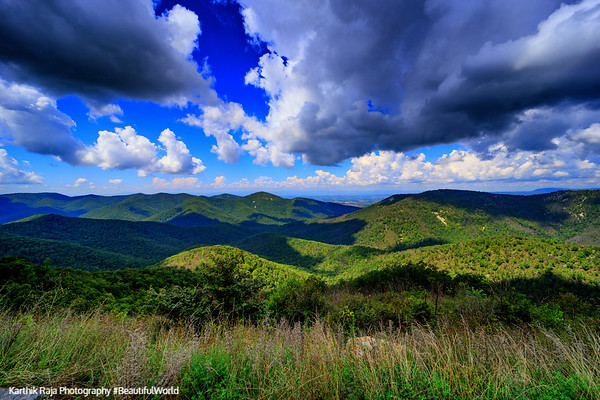 Two Mile Run Overlook, Shenandoah National Park, Virginia