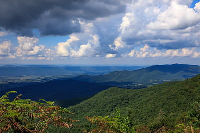 Pass Mountain Overlook, Shenandoah National Park, Virginia