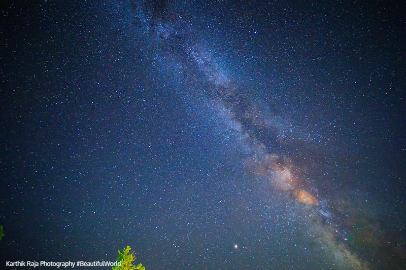 Stars, Milky Way Galaxy, Shenandoah National Park, Virginia