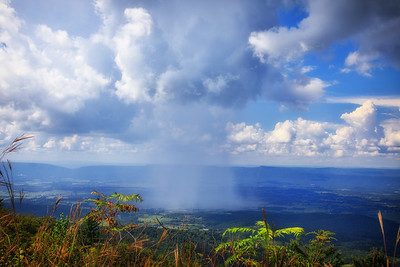 Rain Cloud, Pass Mountain Overlook, Shenandoah National Park, Virginia