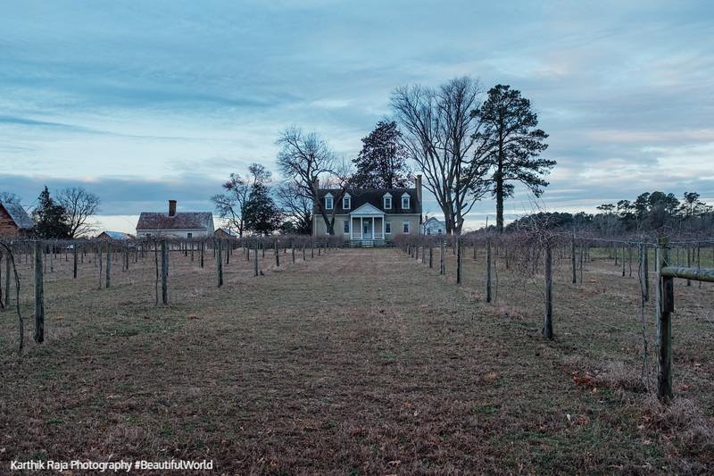 Manor House, Vineyard, Windsor Castle Park, Smithfield, Virginia