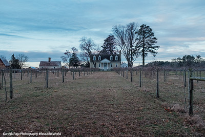 Manor House, Vineyard, Windsor Castle Park, Smithfield, Virginia