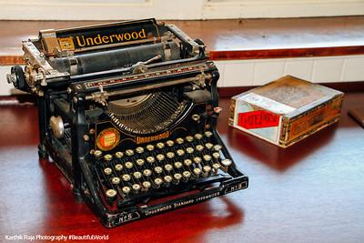 Valley Forge - Underwood Typewriter
