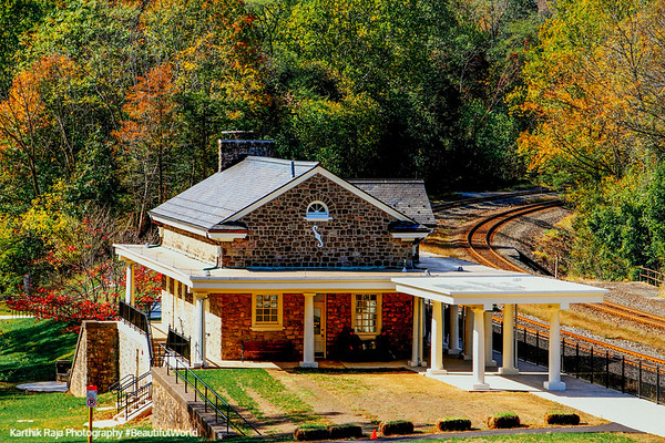 Valley Forge - Train station