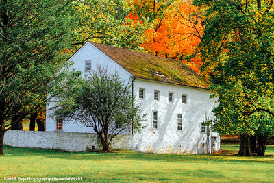 Valley Forge - fall building