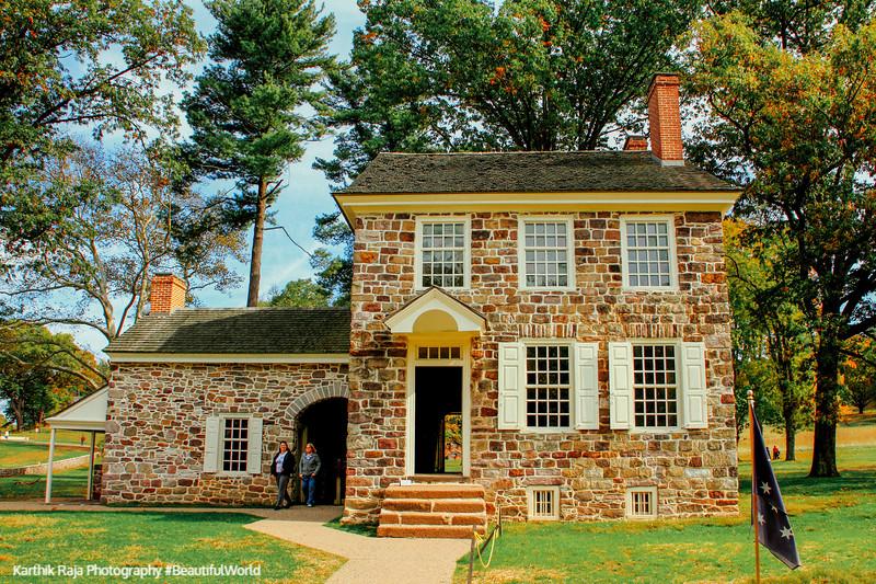 Valley Forge - George Washington's headquarters