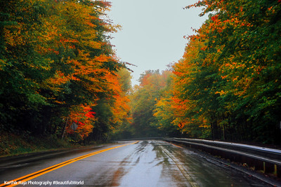 Kancamagus Highway, fall colors, White Mountains, NH